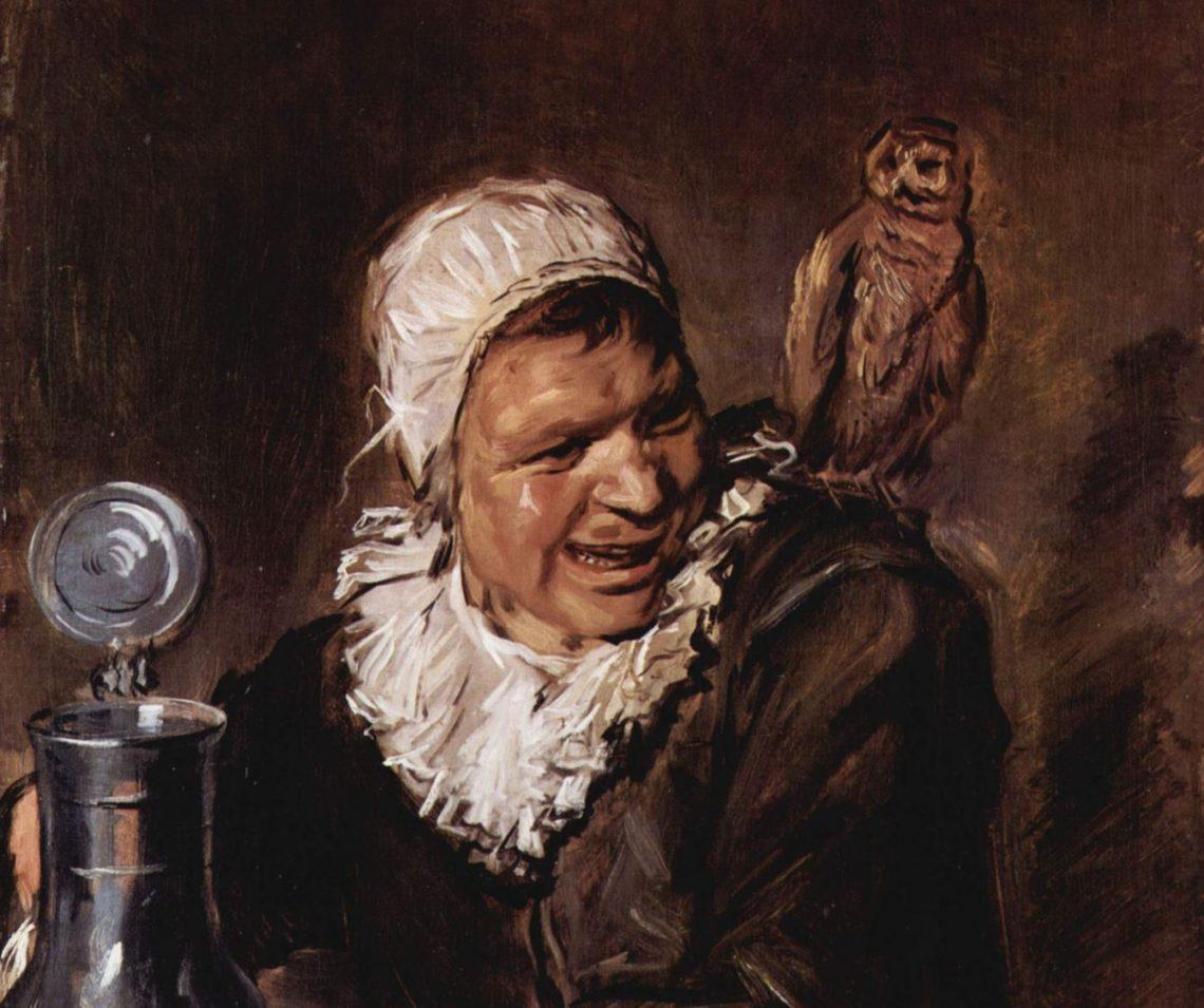 Frans Hals - Malle Babbe um 1634
