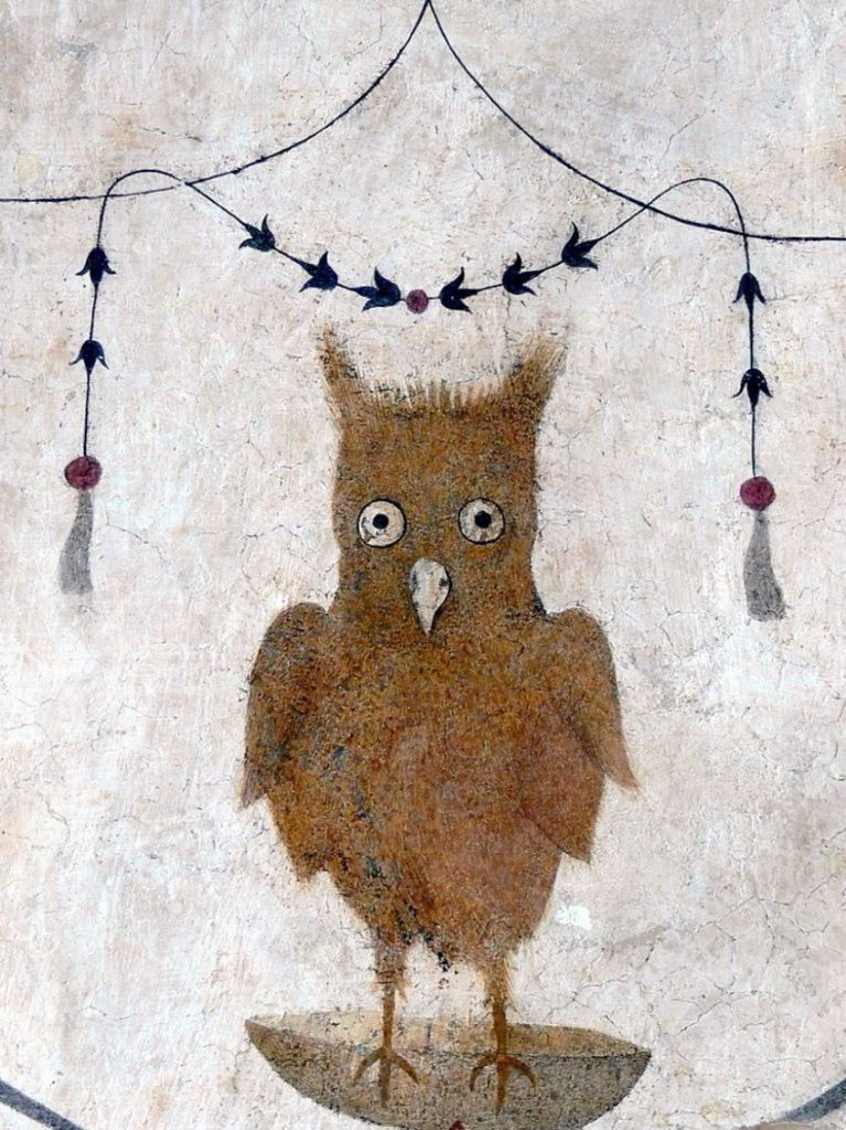 Palazzo dei Priori (Assisi) - Grotesque with owl.